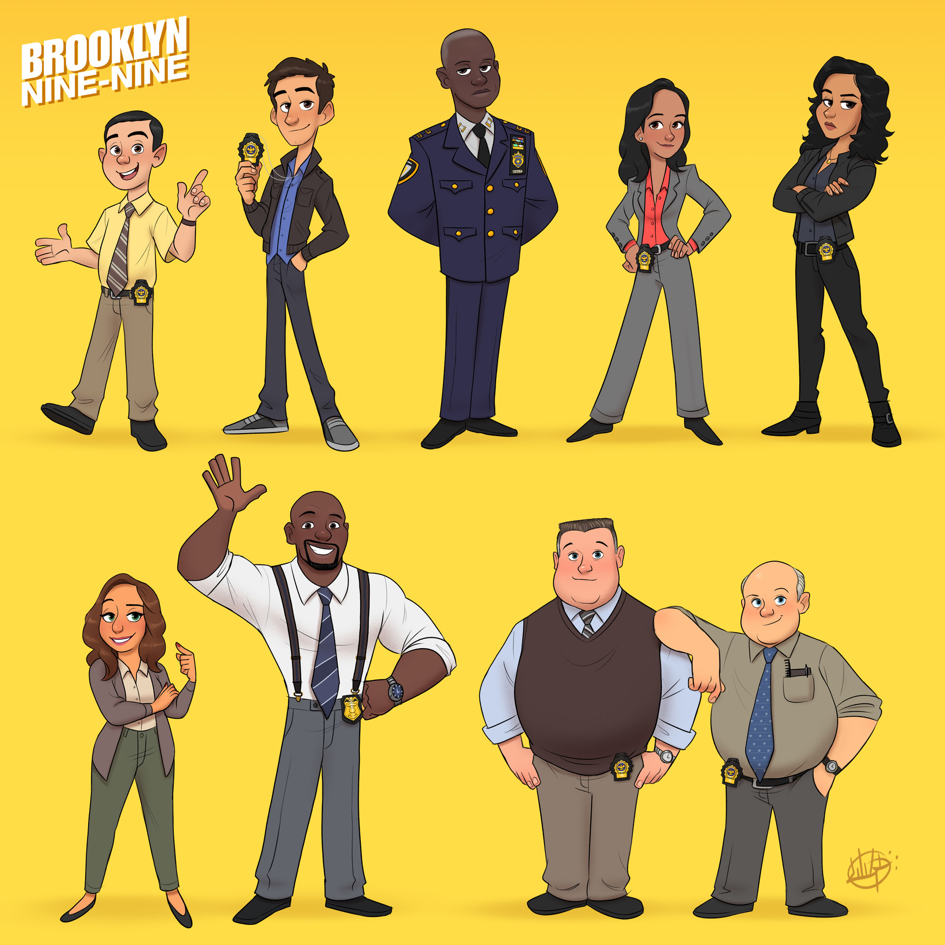 Luigi lucarelli brooklyn nine nine