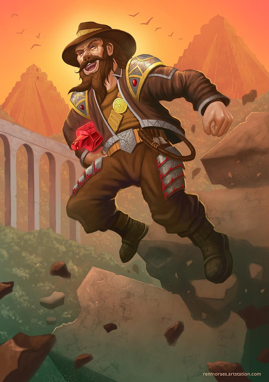 Renan moraes dwarf explorer 72