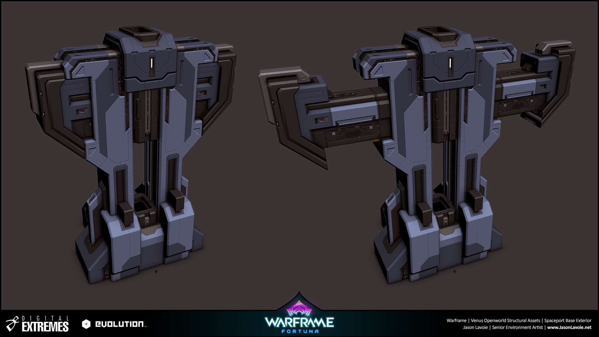 Jason lavoie jasonlavoie warframefortuna spaceportbaseexterior 3dmax tower