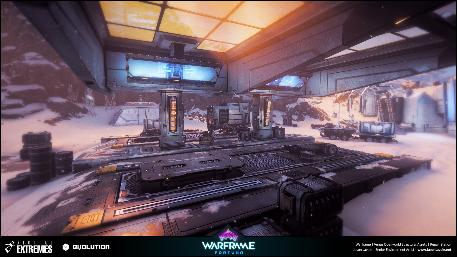 Jason lavoie jasonlavoie warframefortuna repairstation ingame 02