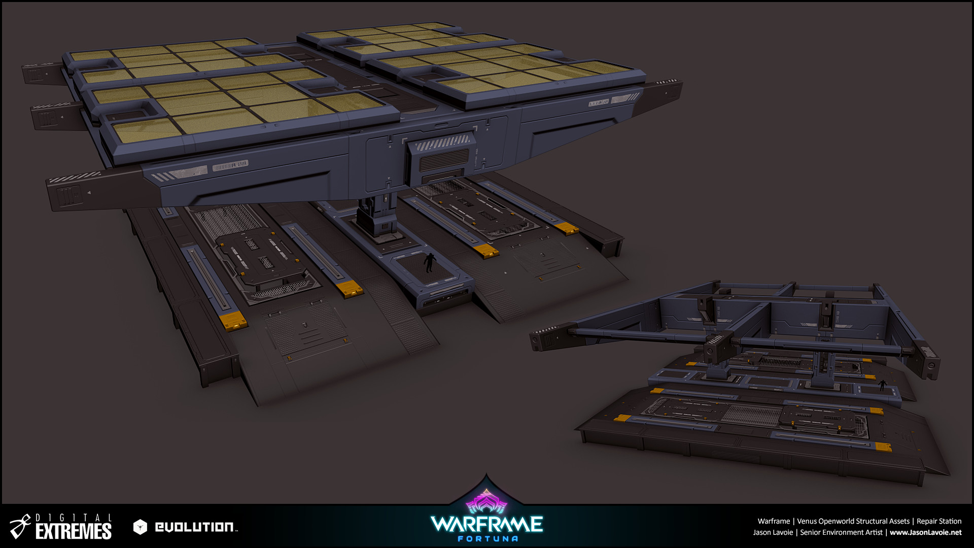 Jason lavoie jasonlavoie warframefortuna repairstation 3dmax