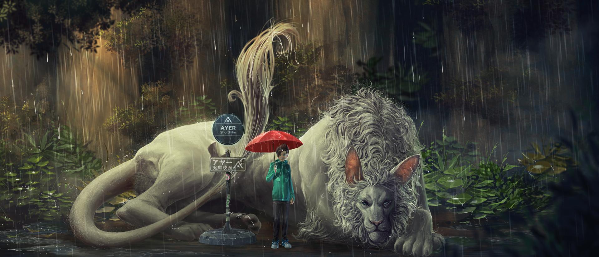 Kaithzer morejon poster matt dragon totoro 2