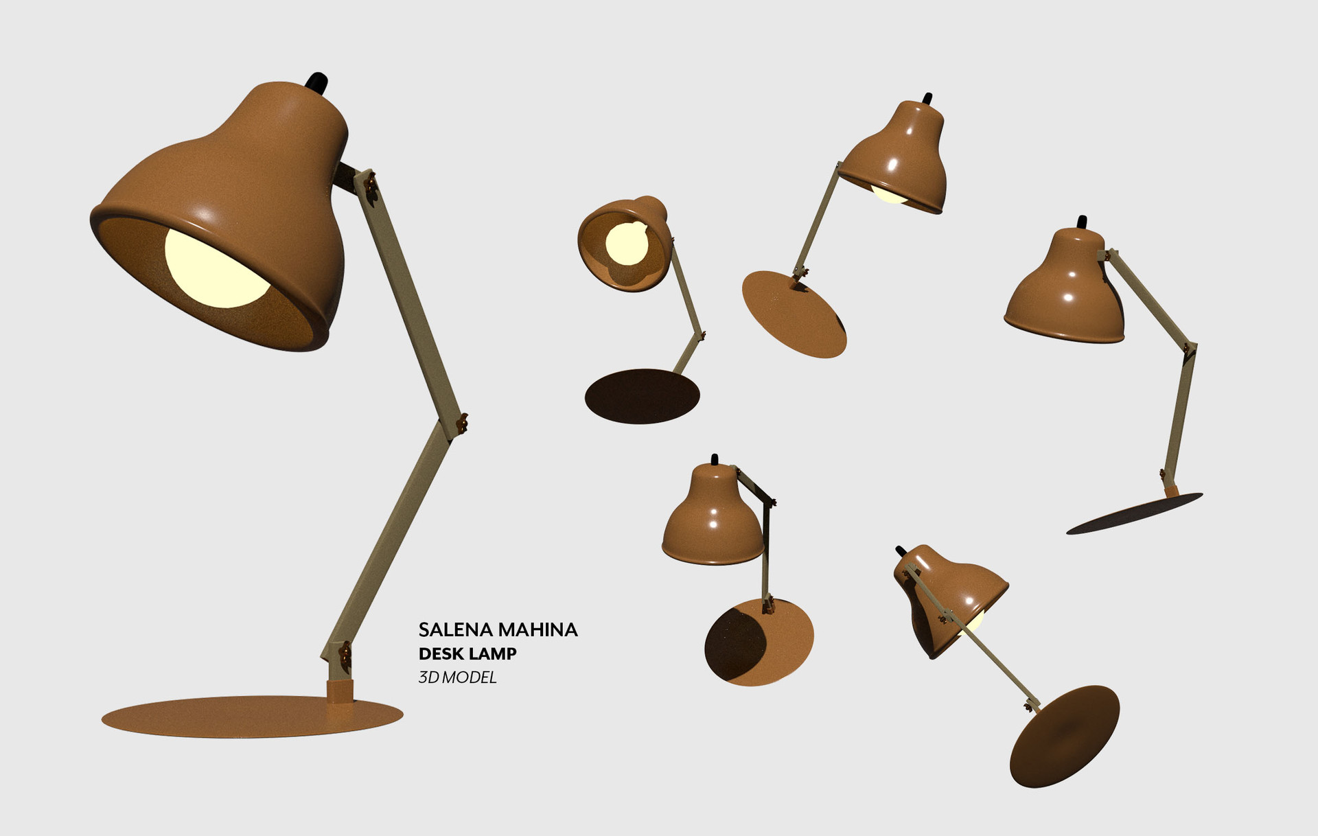 Salena mahina smahina lamp layout