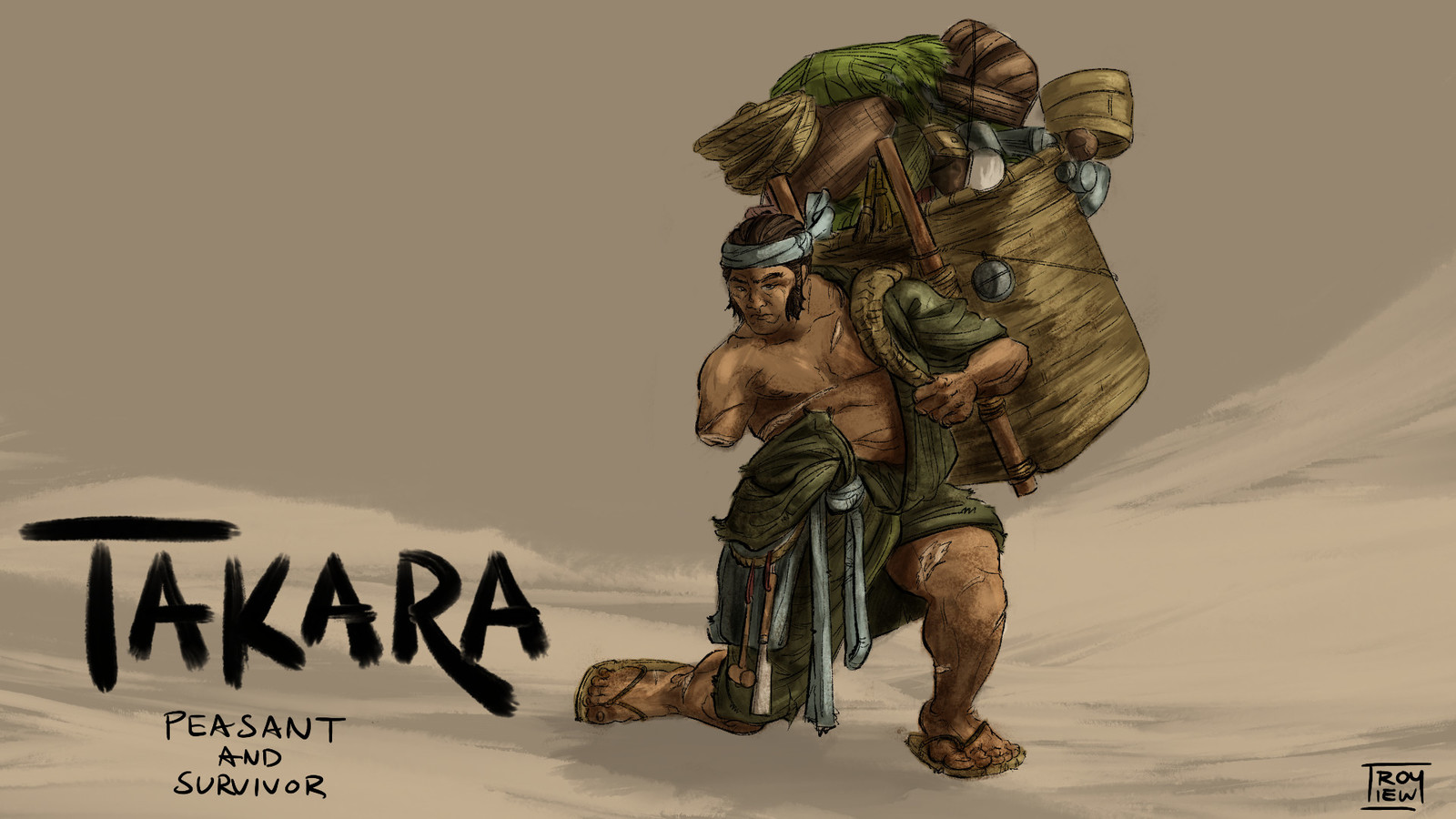 A hard life was promised and delivered for Takara. As a peasant, this was already the norm, but adding to the struggle was a past life invested in a failed revolution. Much has been lost, but much can also be endured.