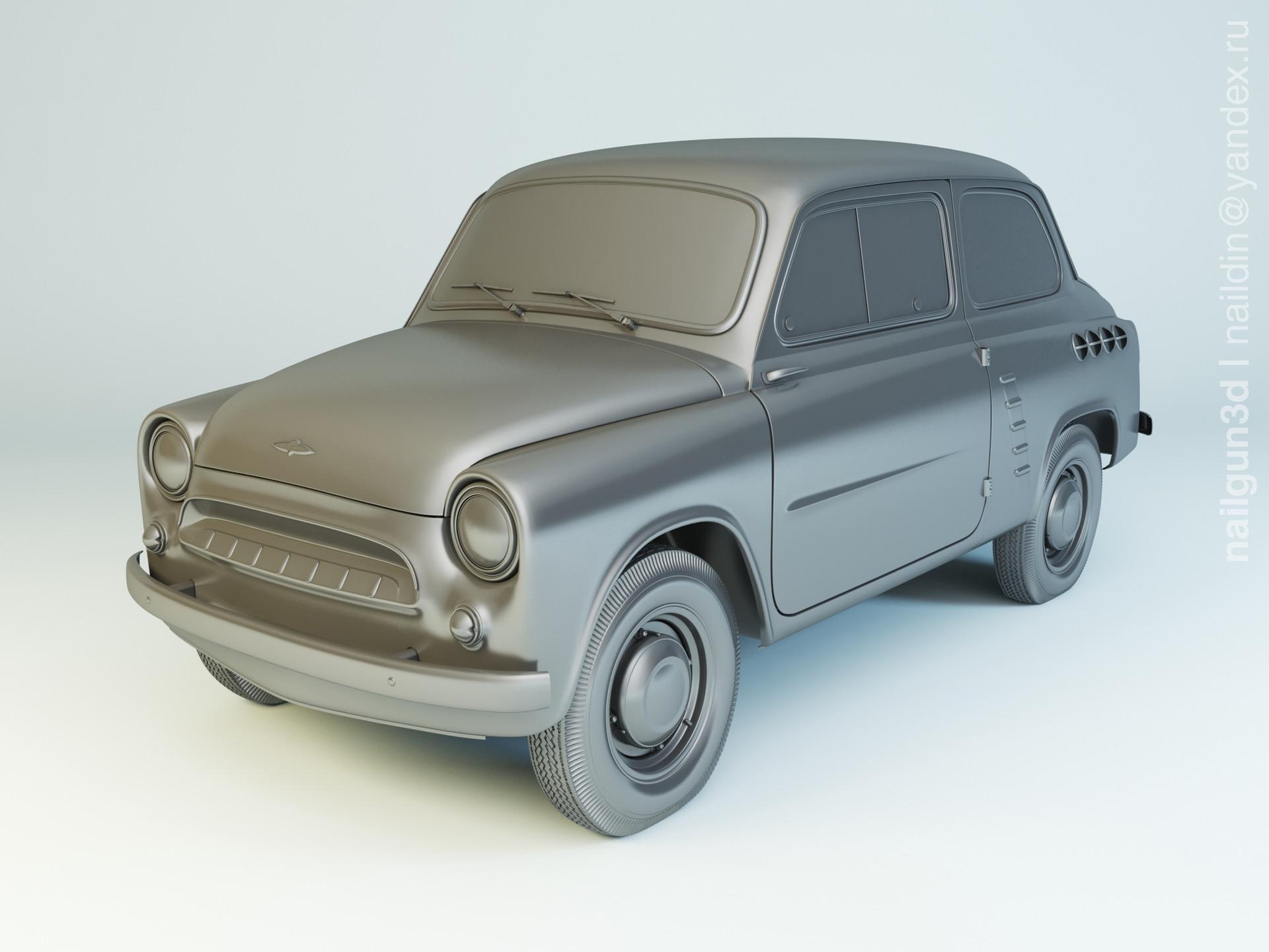 Nail khusnutdinov als 235 002 mzma moskvich 444 modellling 0