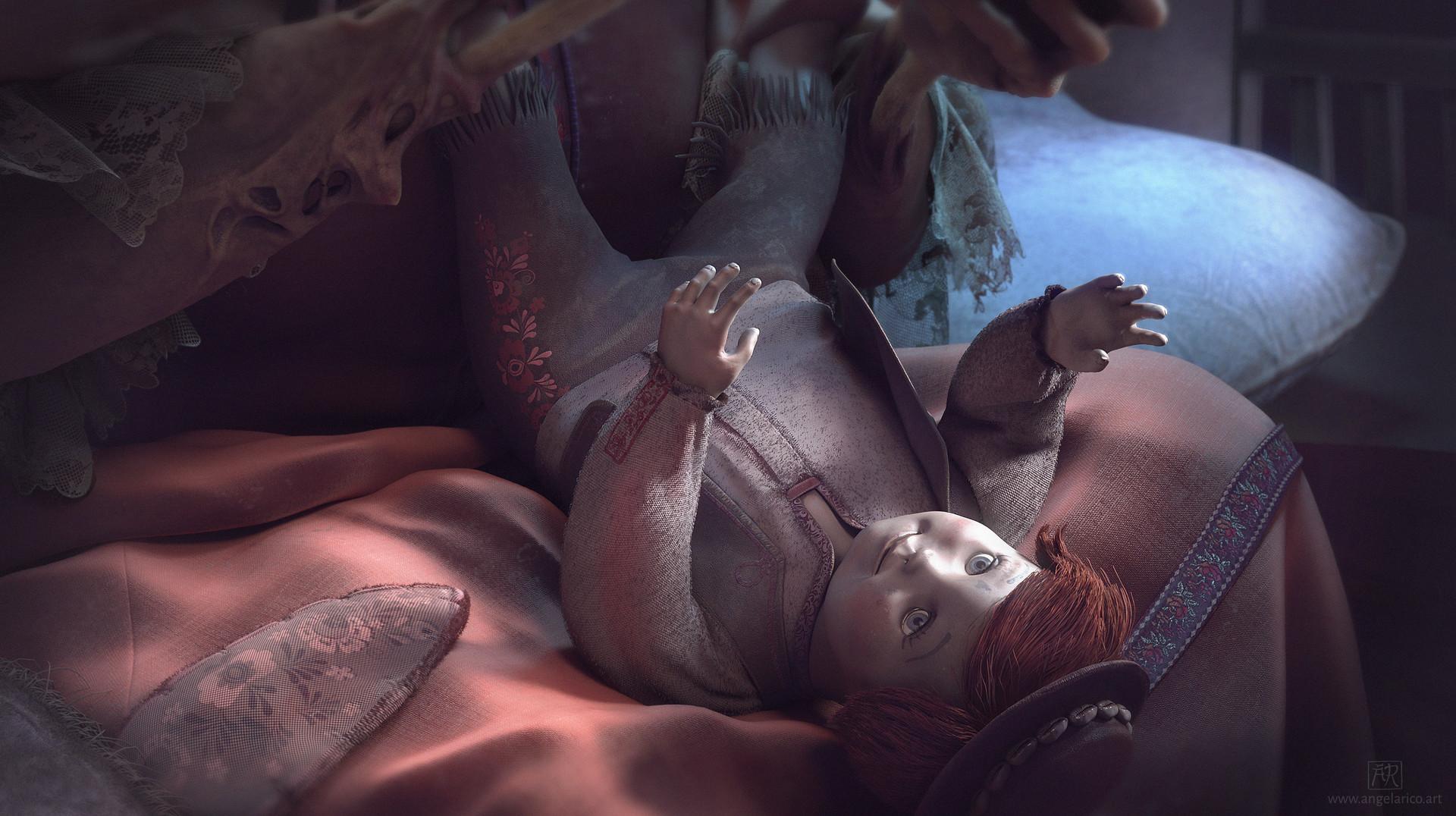 Angela rico cu doll