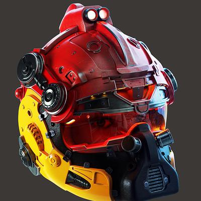 Pascal deraed helmet artstation color 02