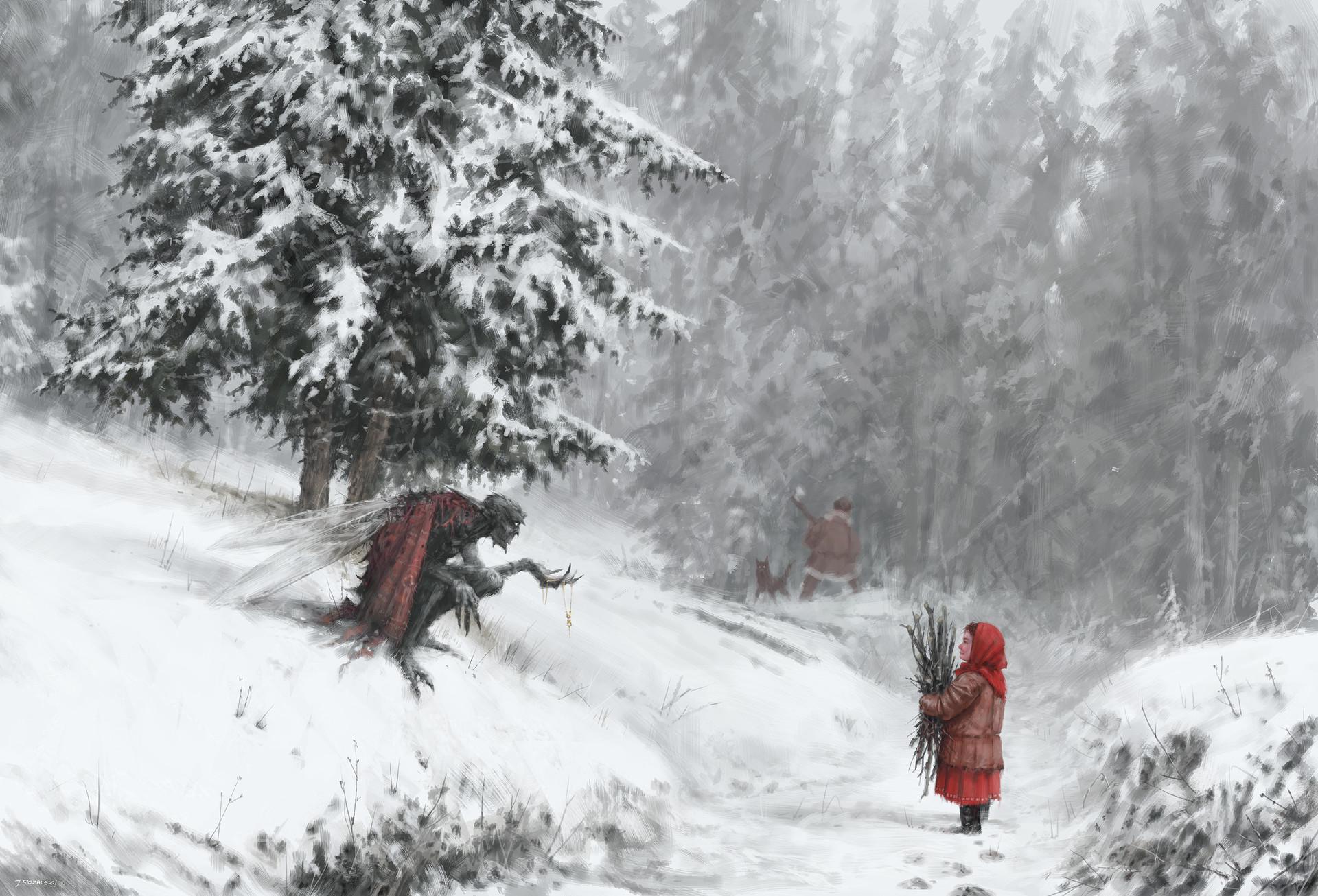 Jakub rozalski drak fairy returns