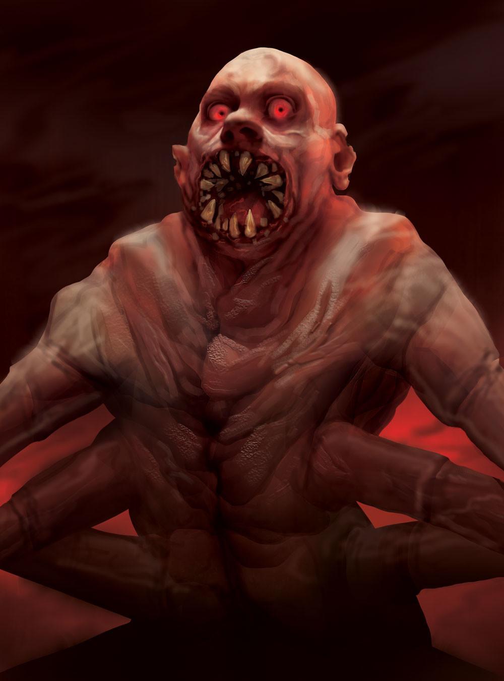 Madeline buanno horror adept centipede man color 4