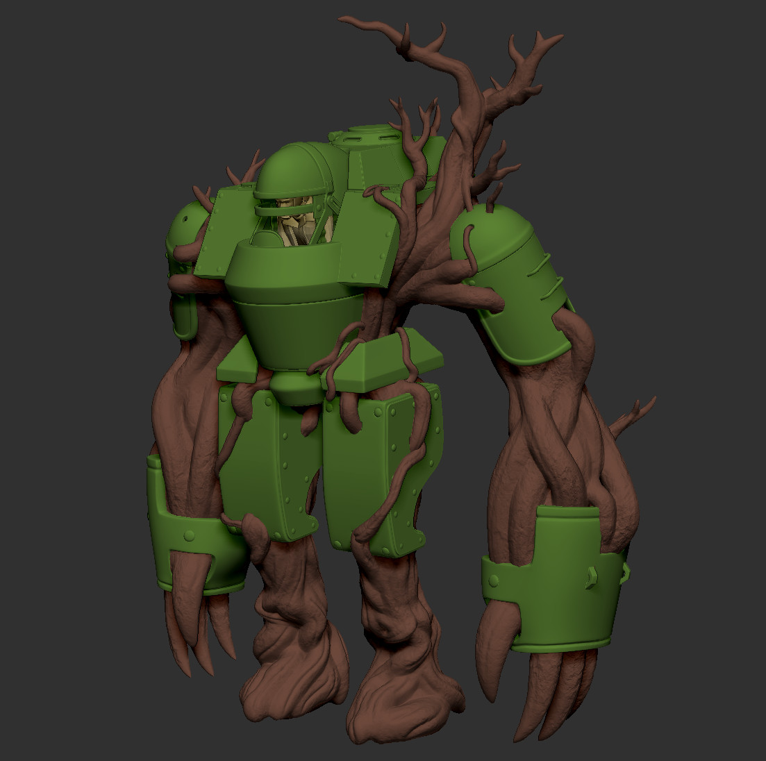 High Poly Everything in Zbrush