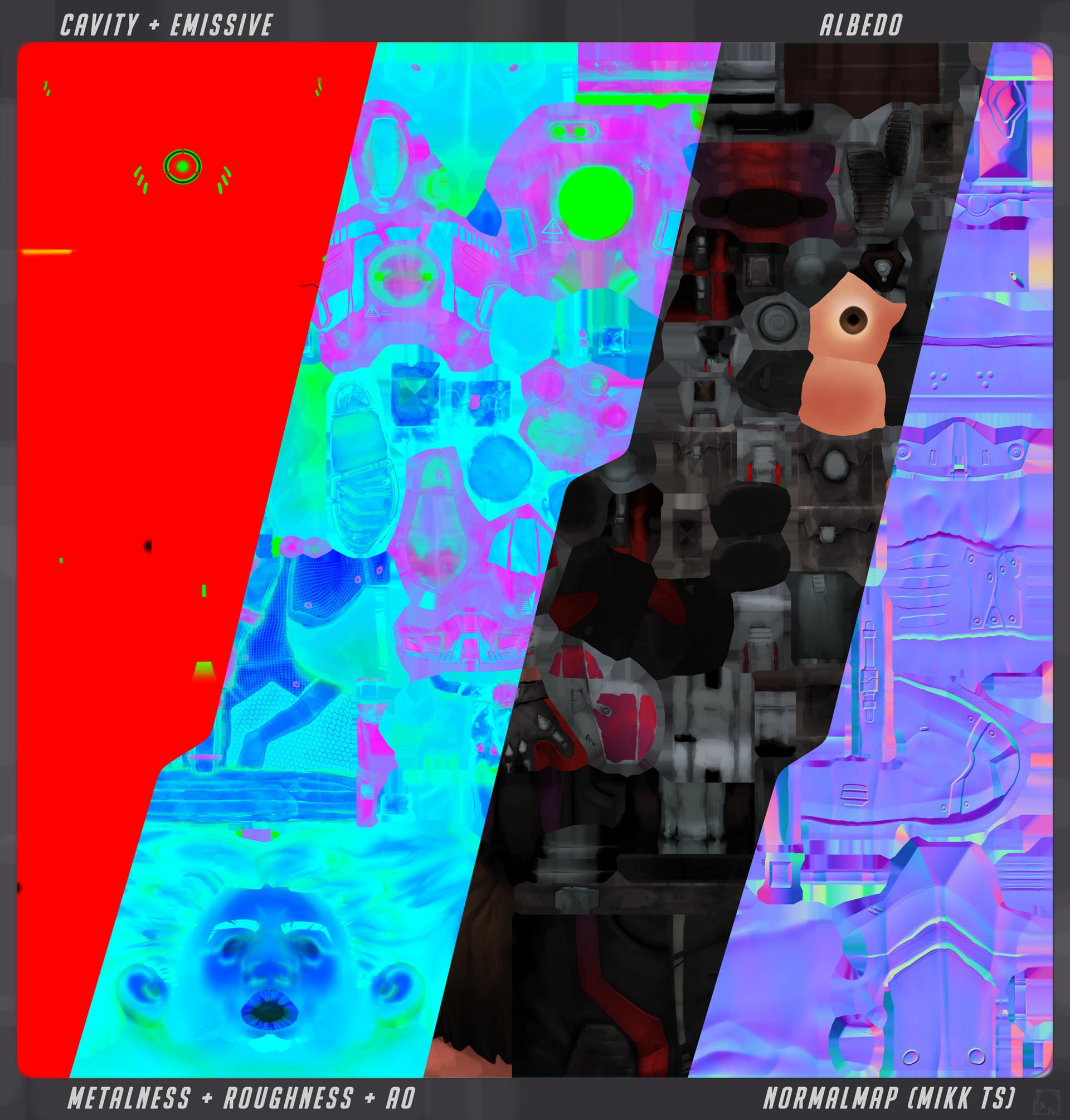 Etienne beschet cha syblast render texturesbreakdown groundbreaker