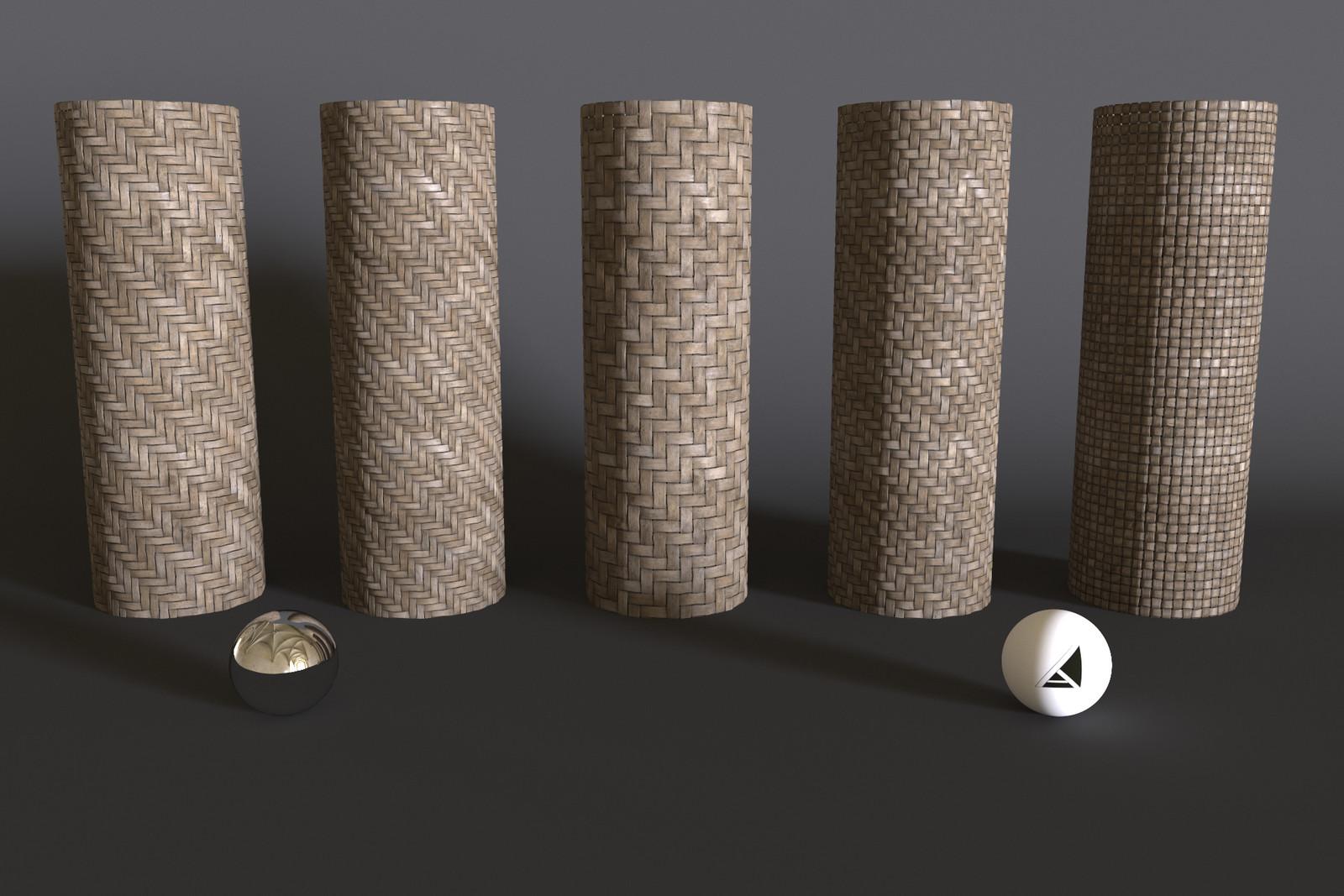 Woven Mats Textures - Substance Designer