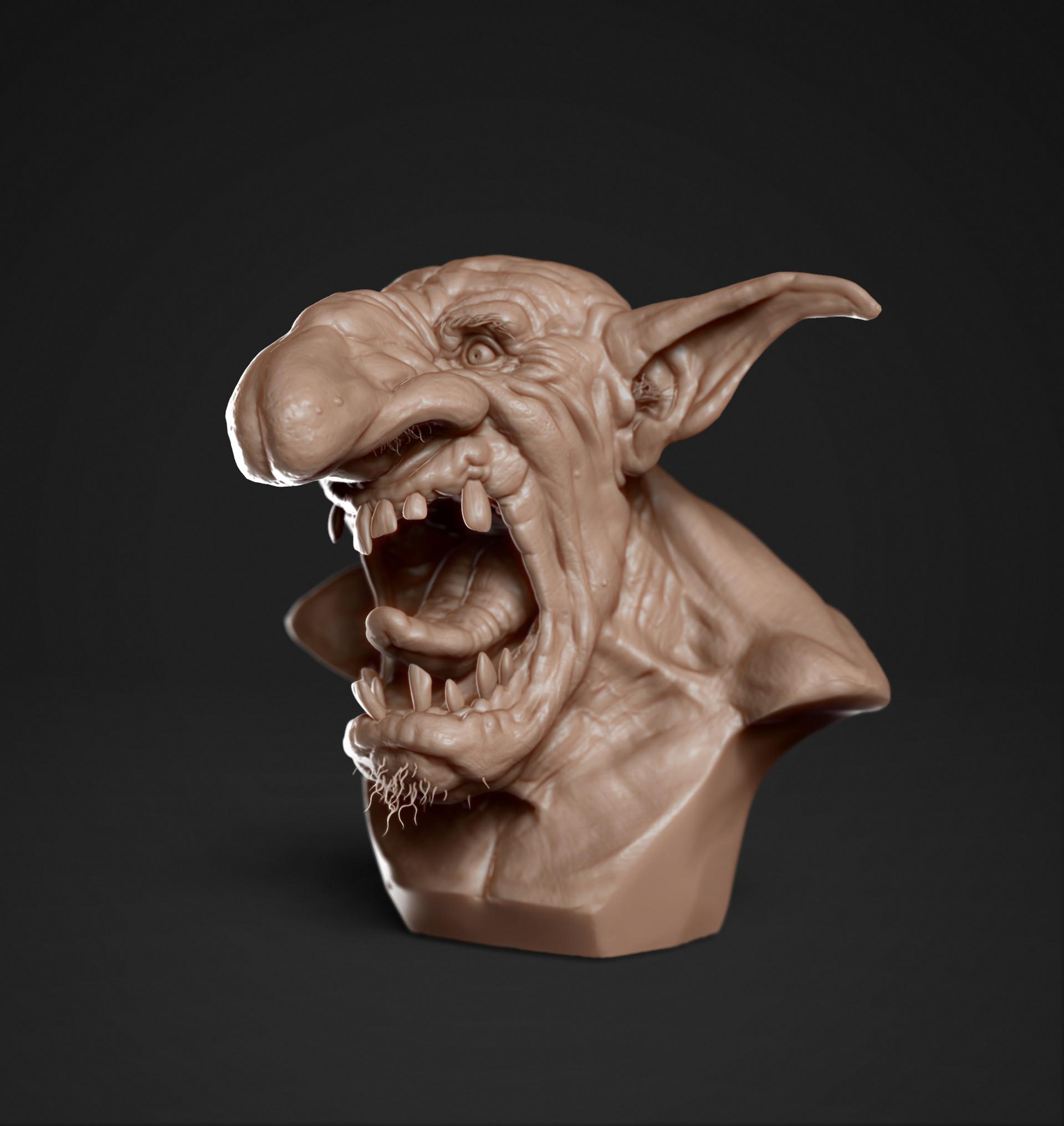 Dave viola goblin left render