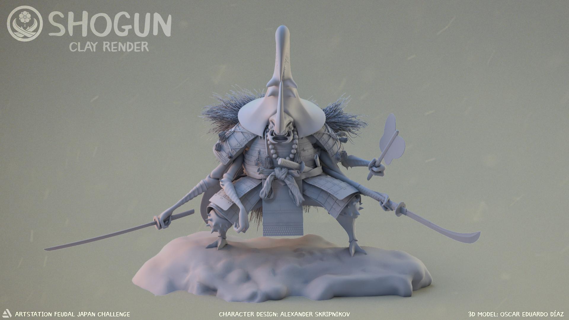 Oscar diaz c shogun clay 00000