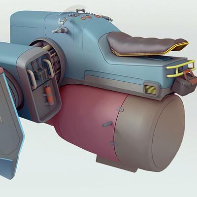 Edison moody asymmatrical speeder render