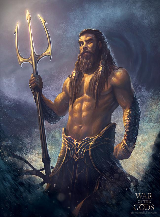 Emmanuel Julian Art Poseidon