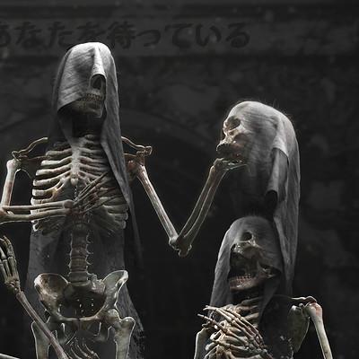 Nicolas zuriaga skeletons gothica toolkit