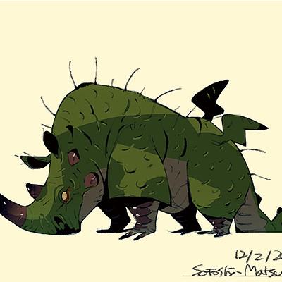 Satoshi matsuura 2018 11 28 rhino dragon s