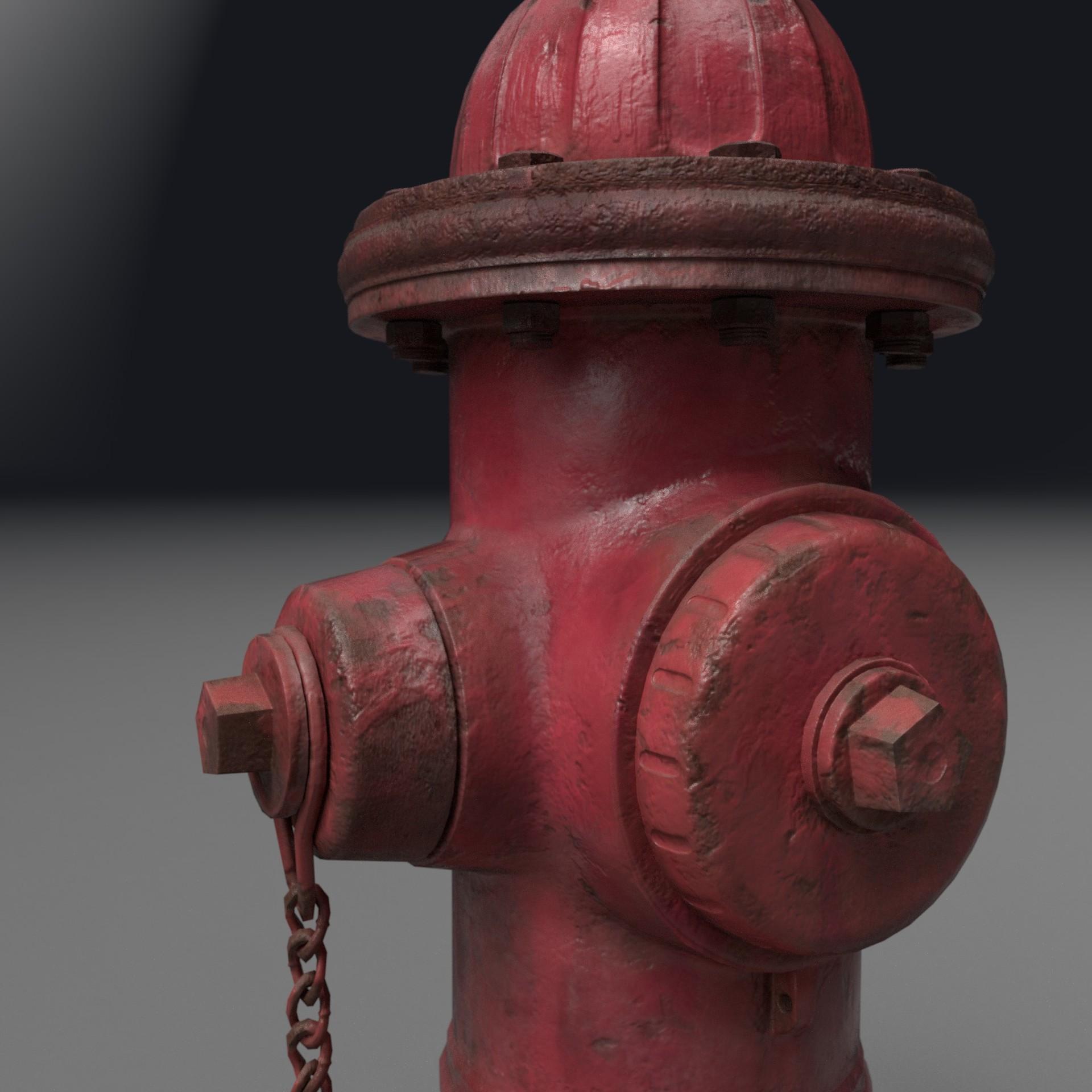 Nick bozarth hydrant render3qfront