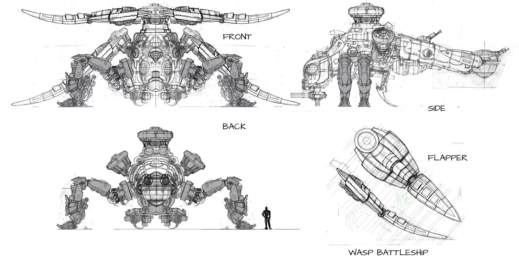 Wasp Scan Battle Ship