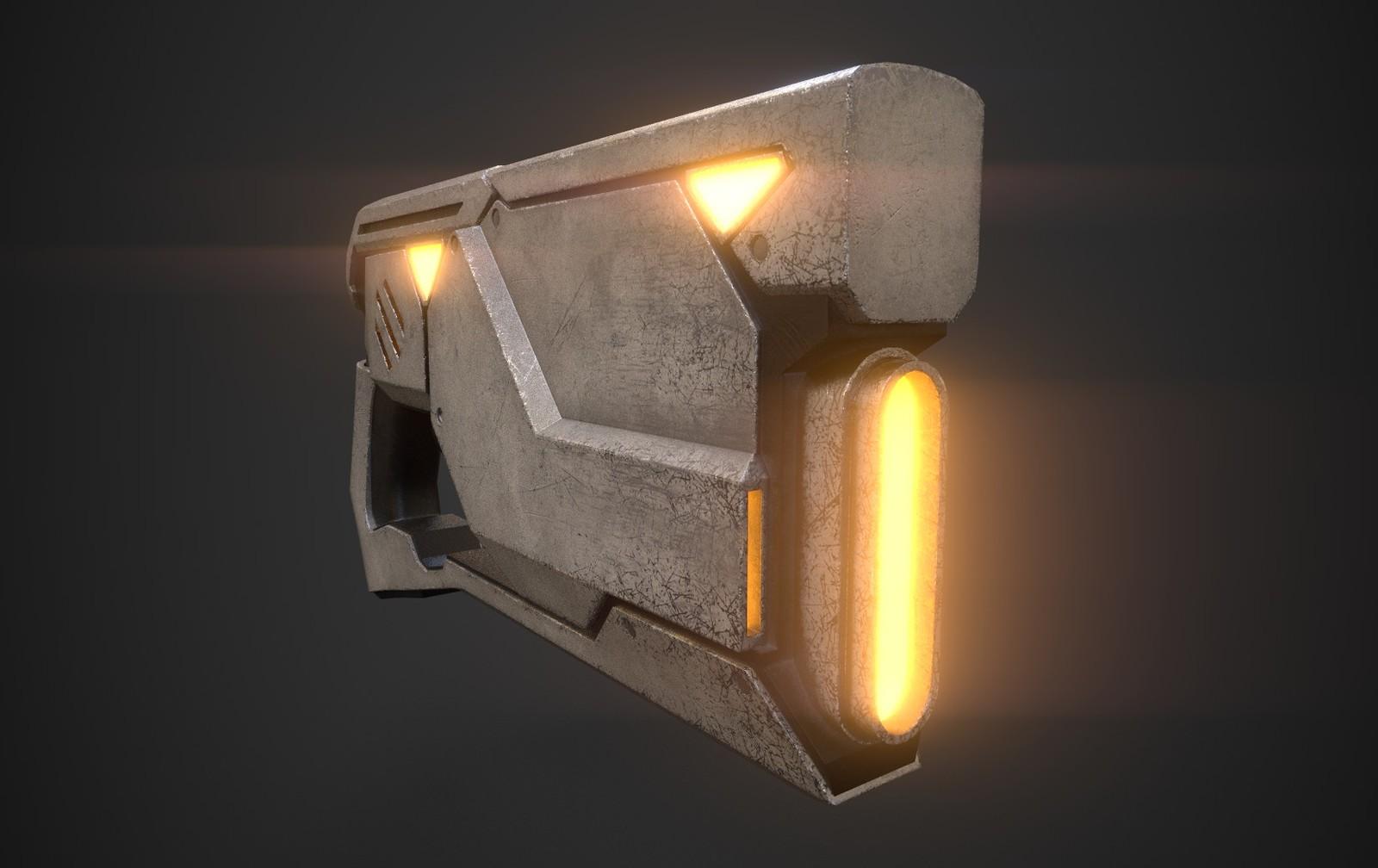 Energy Gun Concept