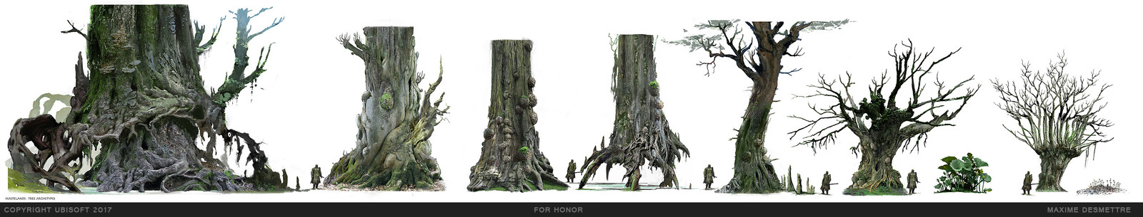 ForHonor : Tree Designs