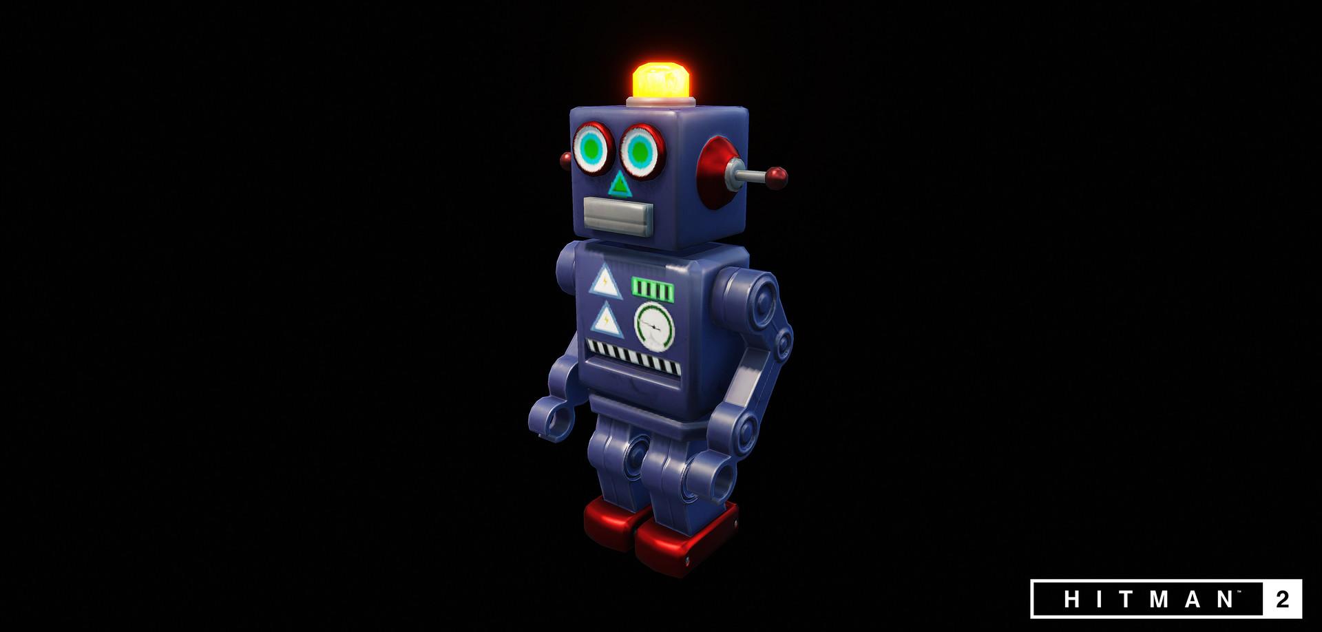 Emil skriver robot