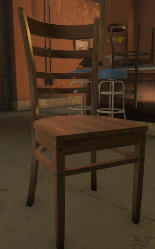 Vincent monfette chair