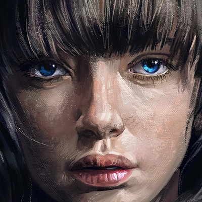 Ozge gungor blue eyed girl