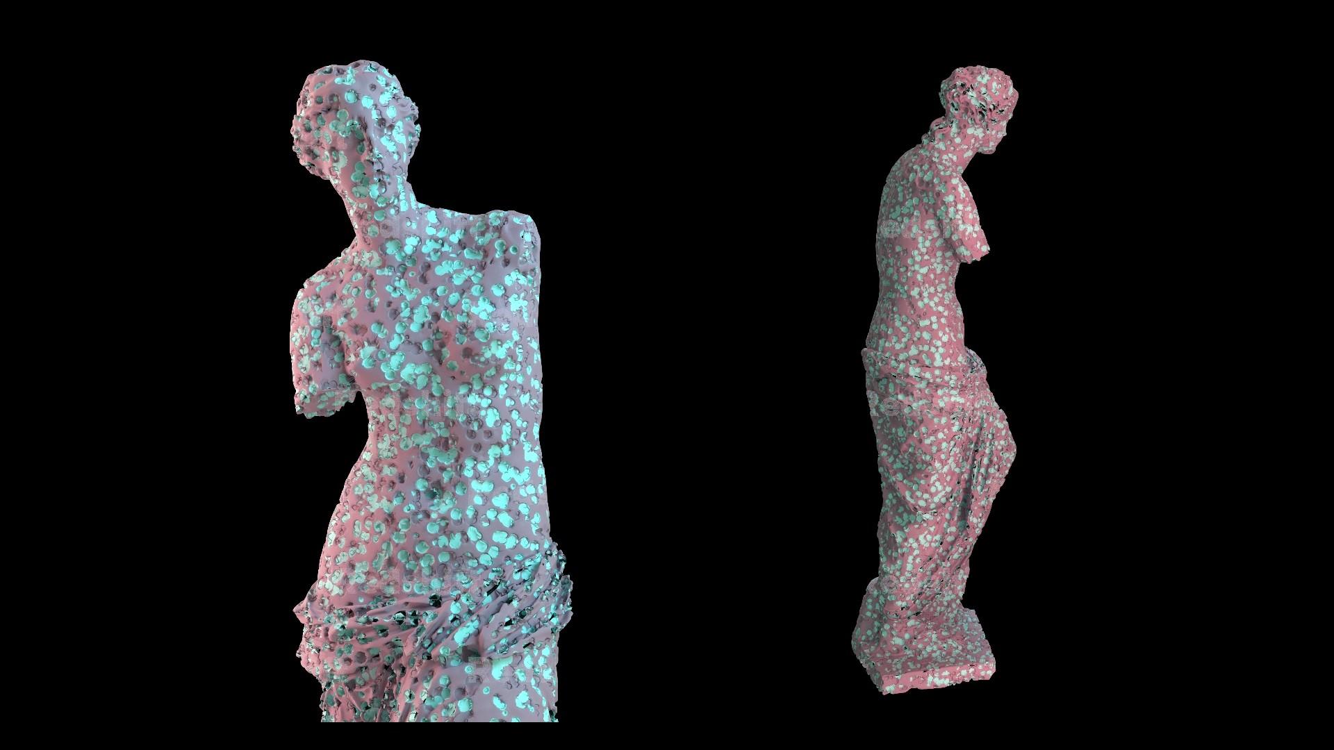 ArtStation - Houdini Procedural Created Material, Sercan Yasar