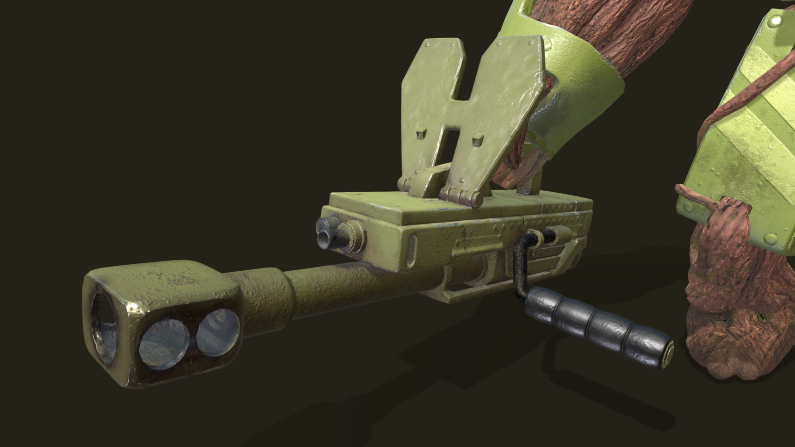 Gun Closeup