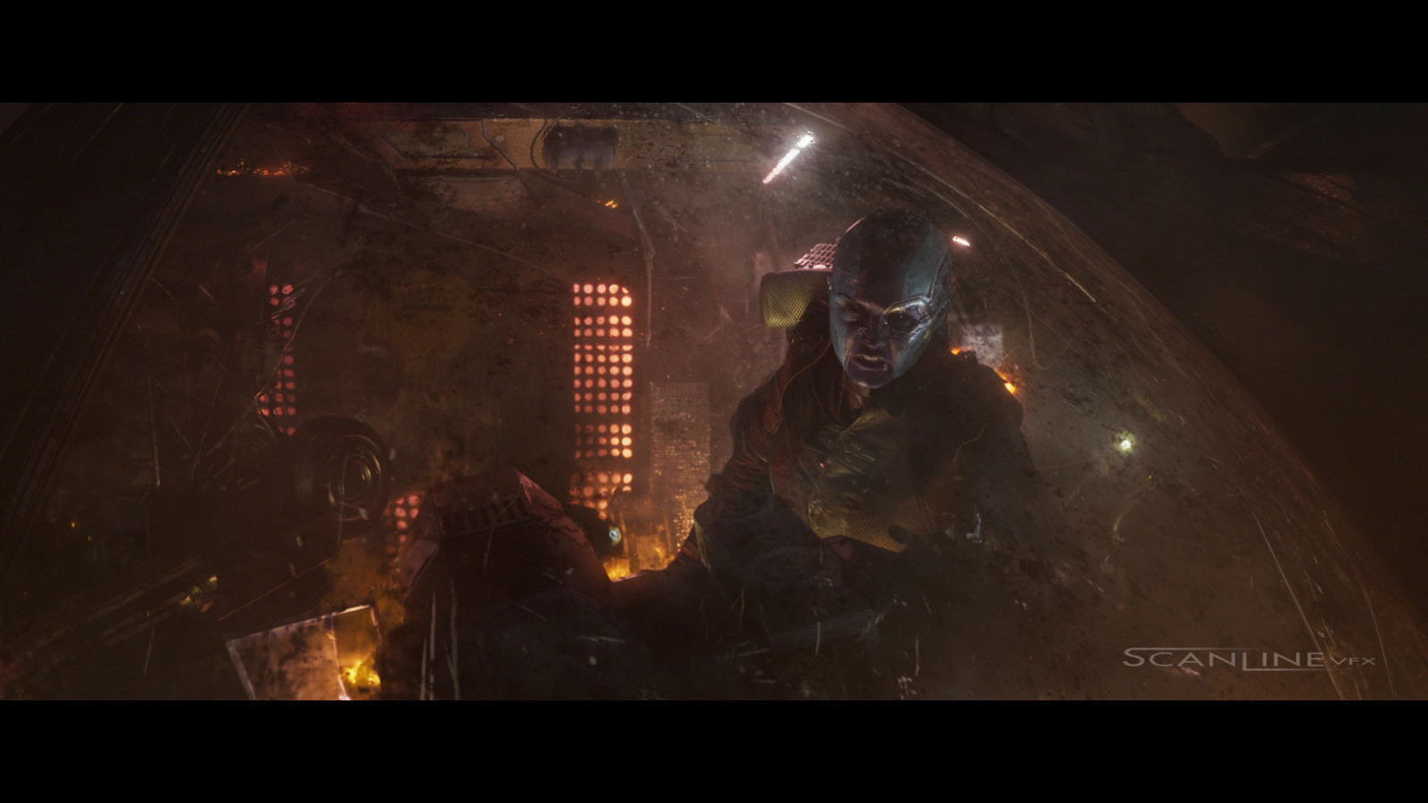 Compositing and integration work  for Guardians of the Galaxy vol. 2 - Work done at Scanline VFX with a team of 3D artists.  Software used: Nuke.