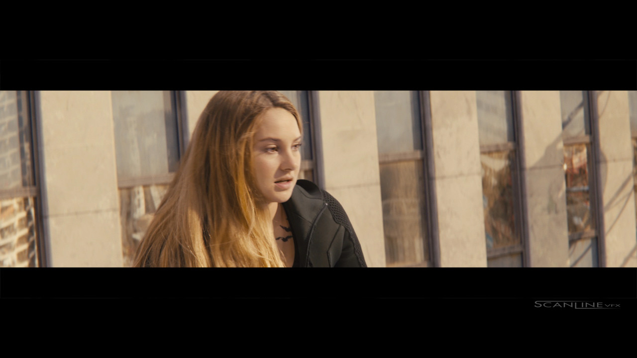 Compositing and integration work for Divergent  - Work done at Scanline VFX with a team of 3D artists. Software used: Nuke.