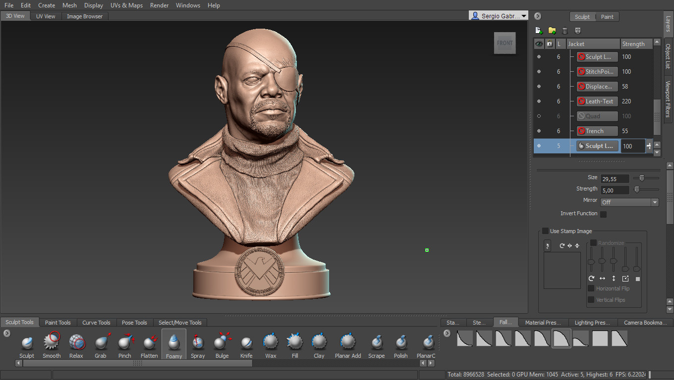 Sergio gabriel mengual mudbox screenshot