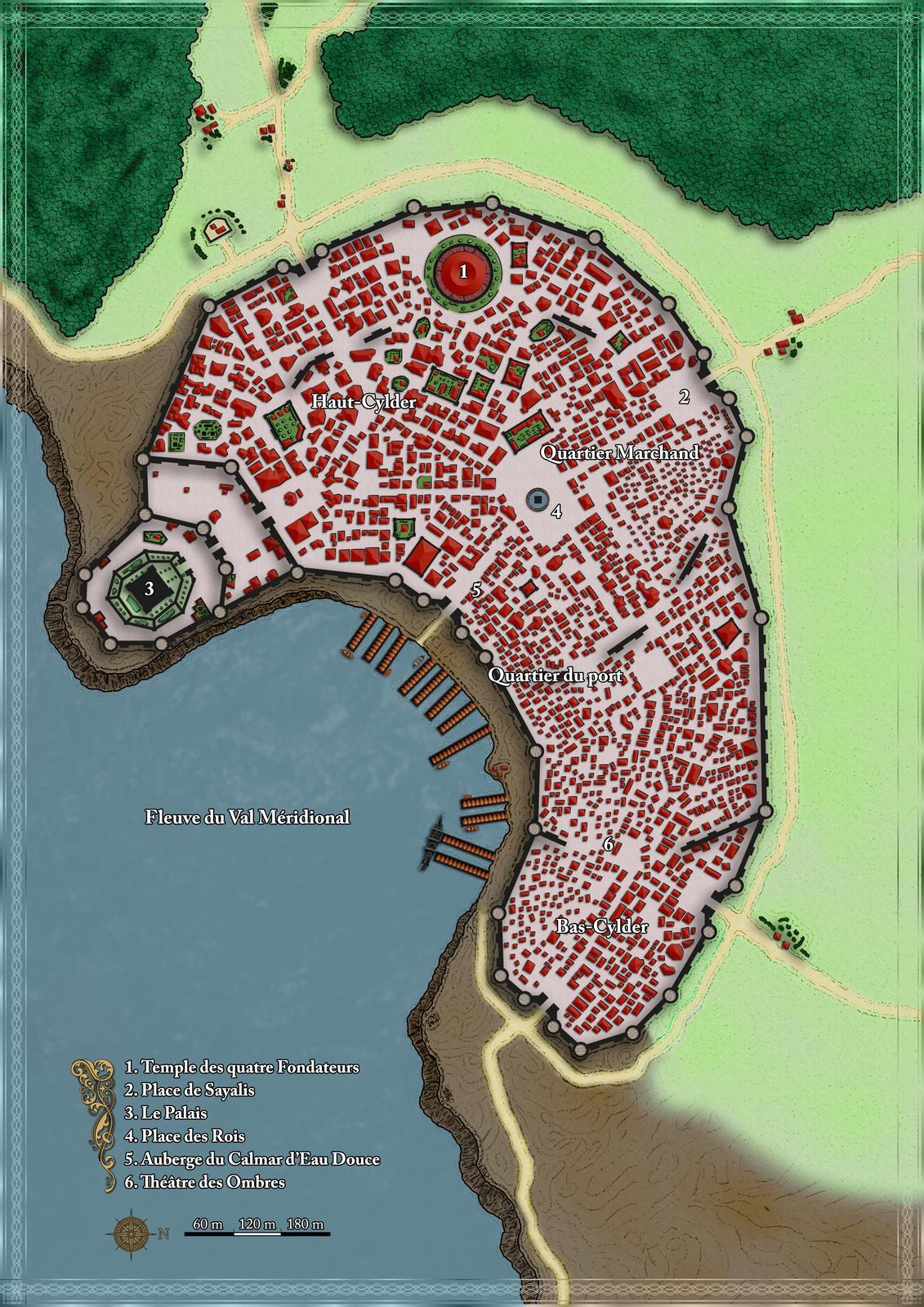 La ville de Cylder