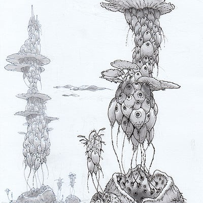 Organic design drawings