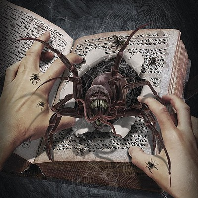 Valery petelin this book is full of spiders