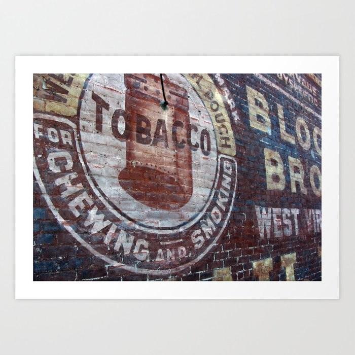Steve rampton west virginia tobacco prints