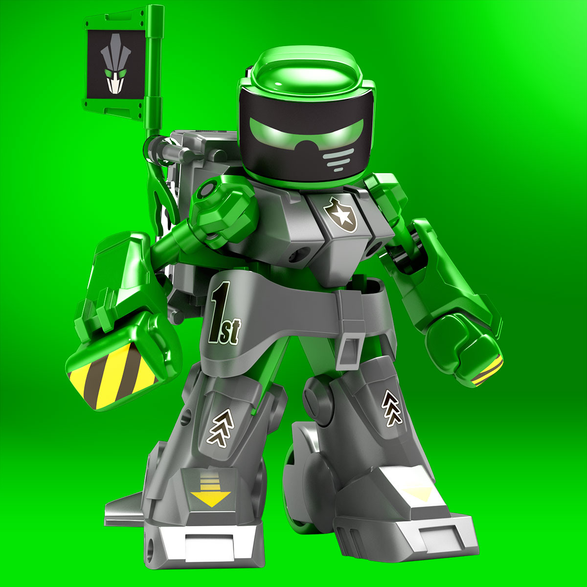 Battroborg Battling Robots