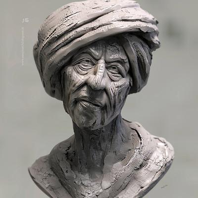 Surajit sen bored speed digital sculpt by surajitsen