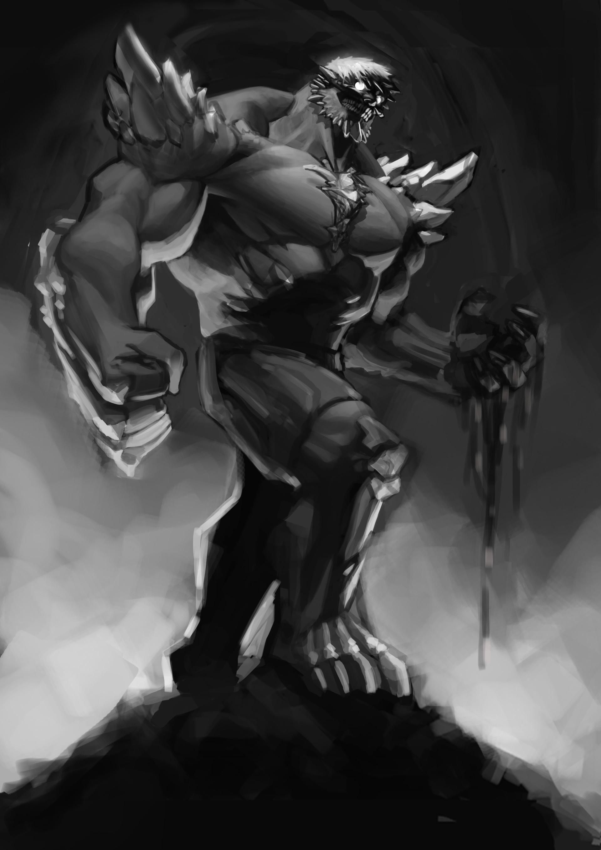 Artstation Doomsday Hulk Mashup Enzo Fernandez