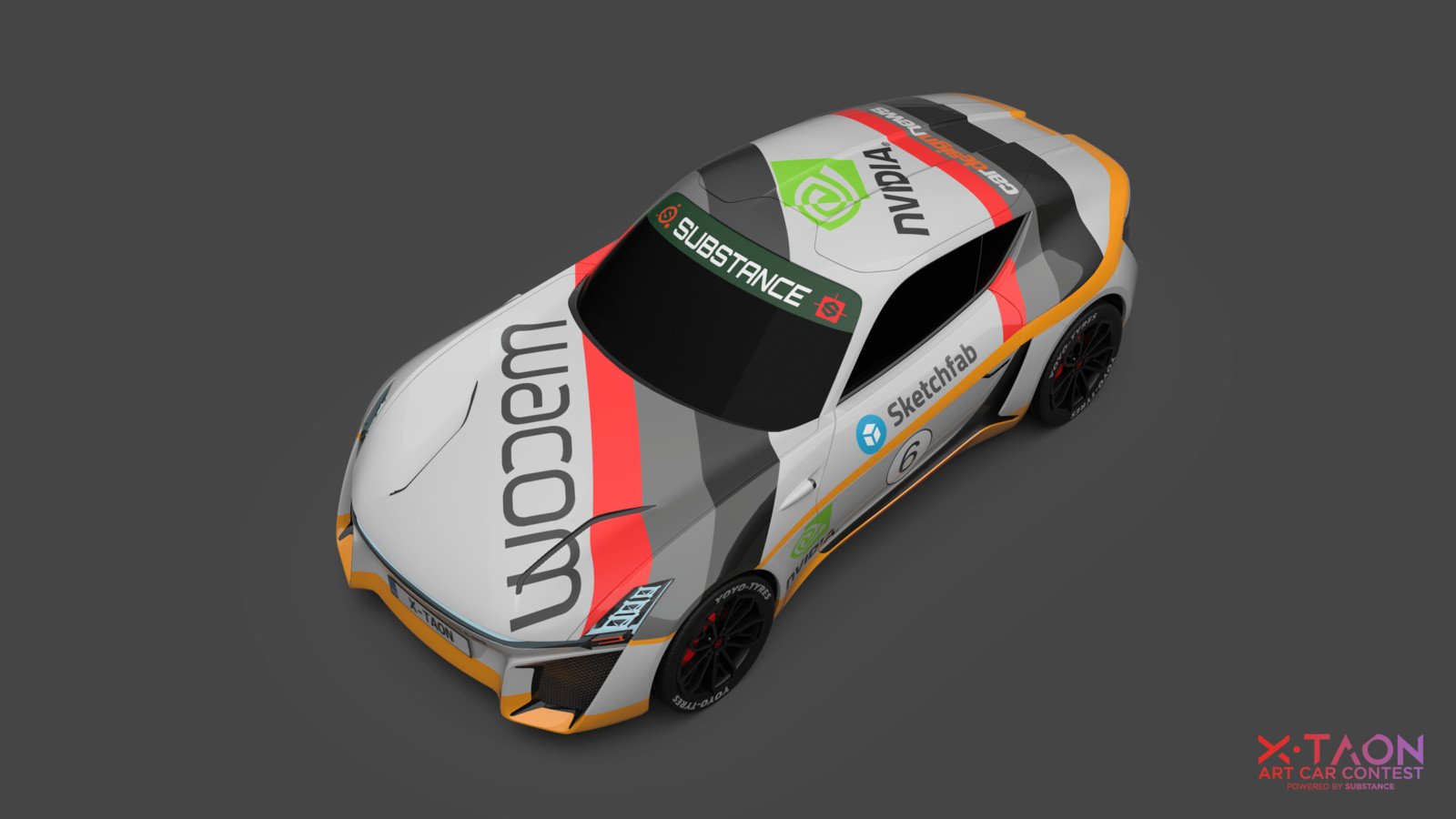 X-TAON GroupB - The Art Car Texturing Contest Entry