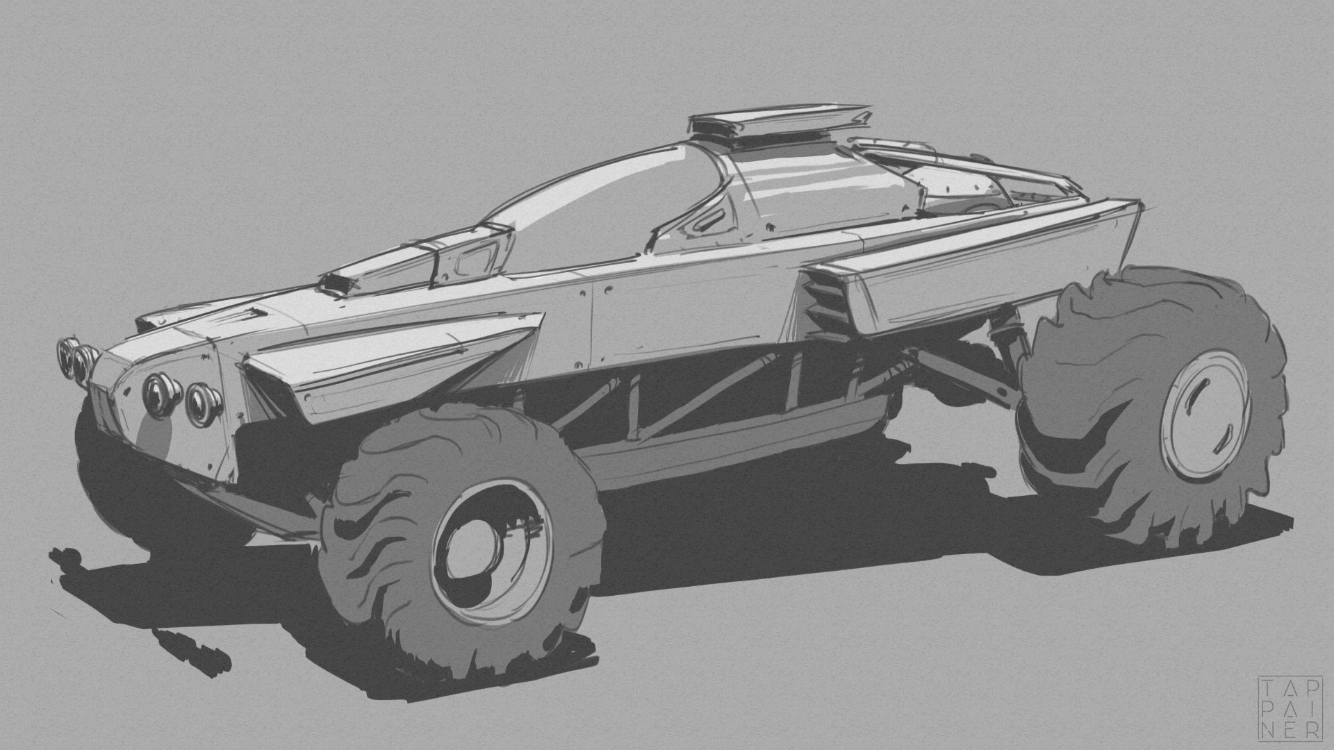 Dune Buggy Design Exploration