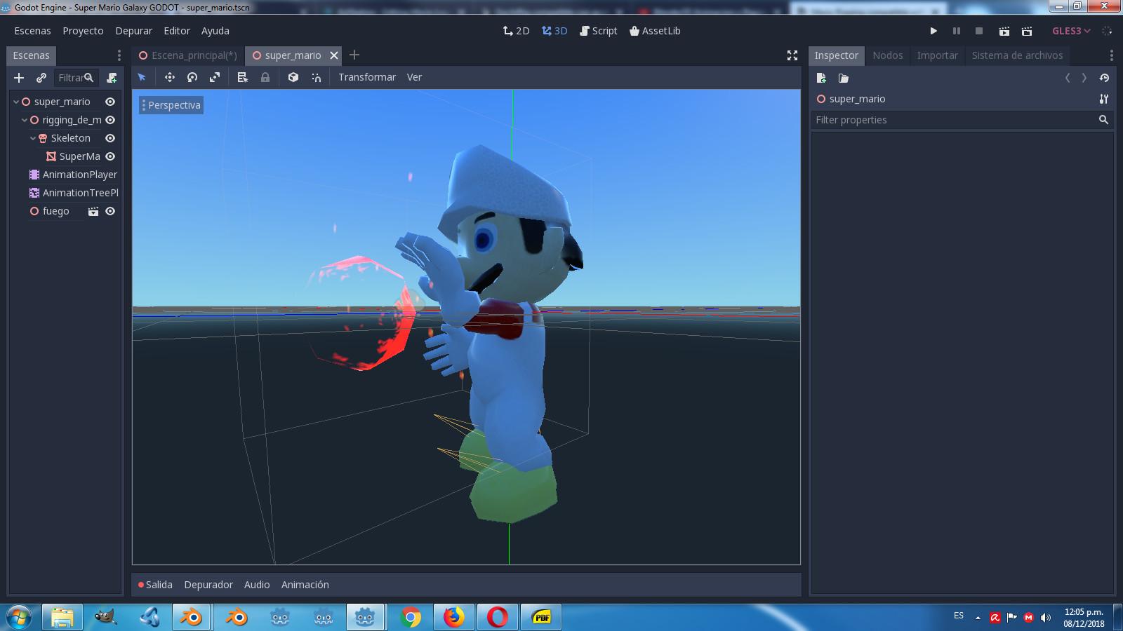 ArtStation - Mario Low poly rig animation , Ariel Eduardo
