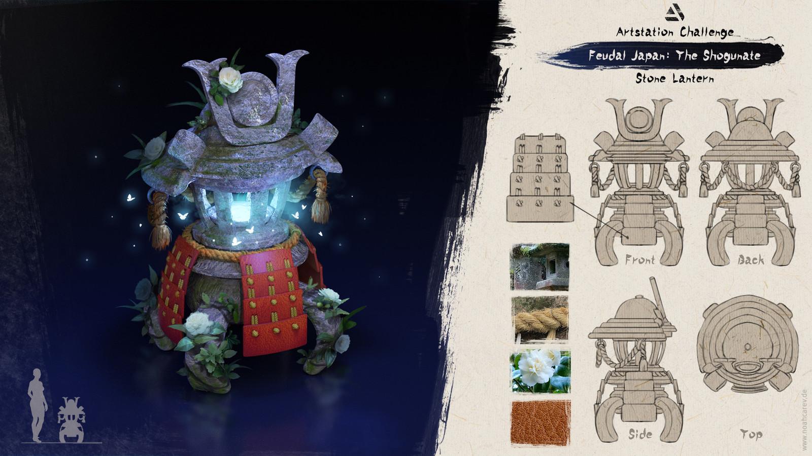 Breakdown Stone lantern