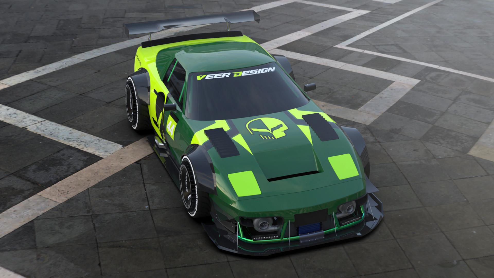 ArtStation - Chevrolet Corvette C4, Veer Design
