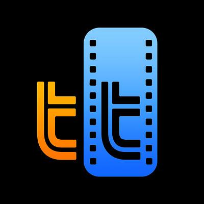 Christopher michael walker tt logo orange and blue with gradient