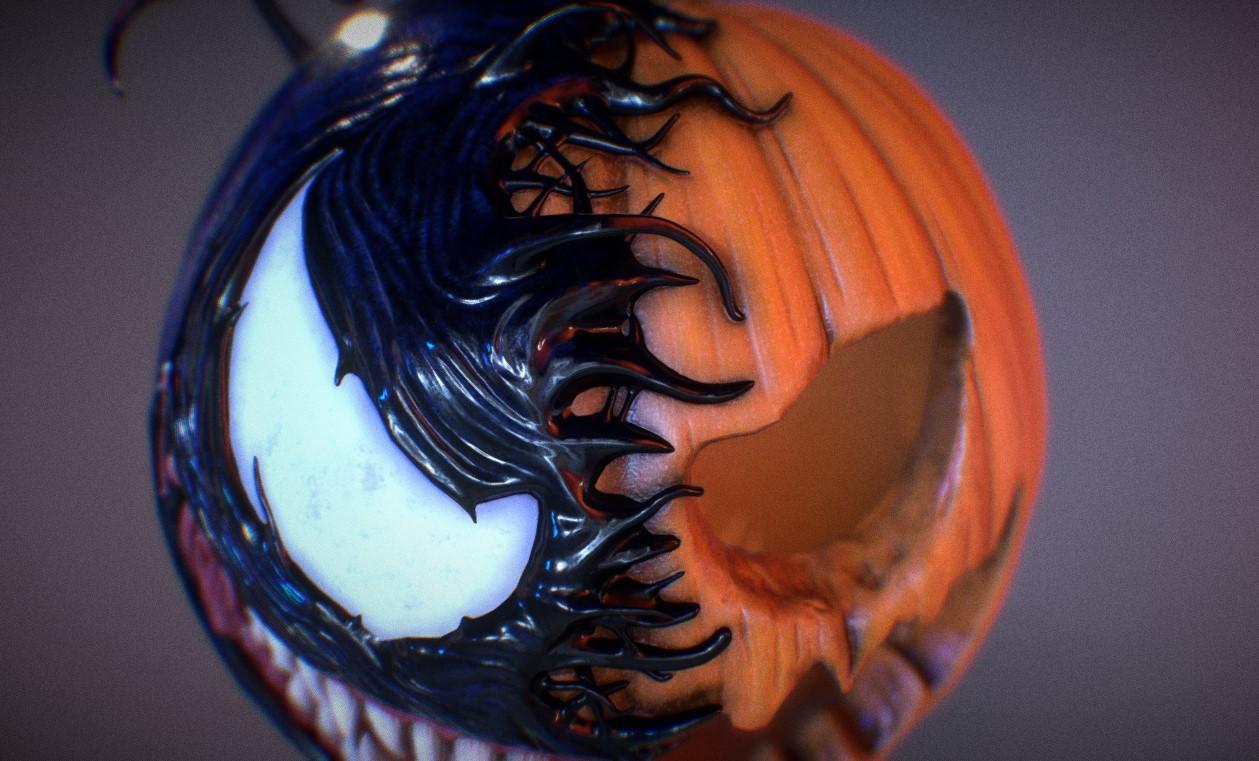 Artstation Pumpkin Venom 3dart Vladislav