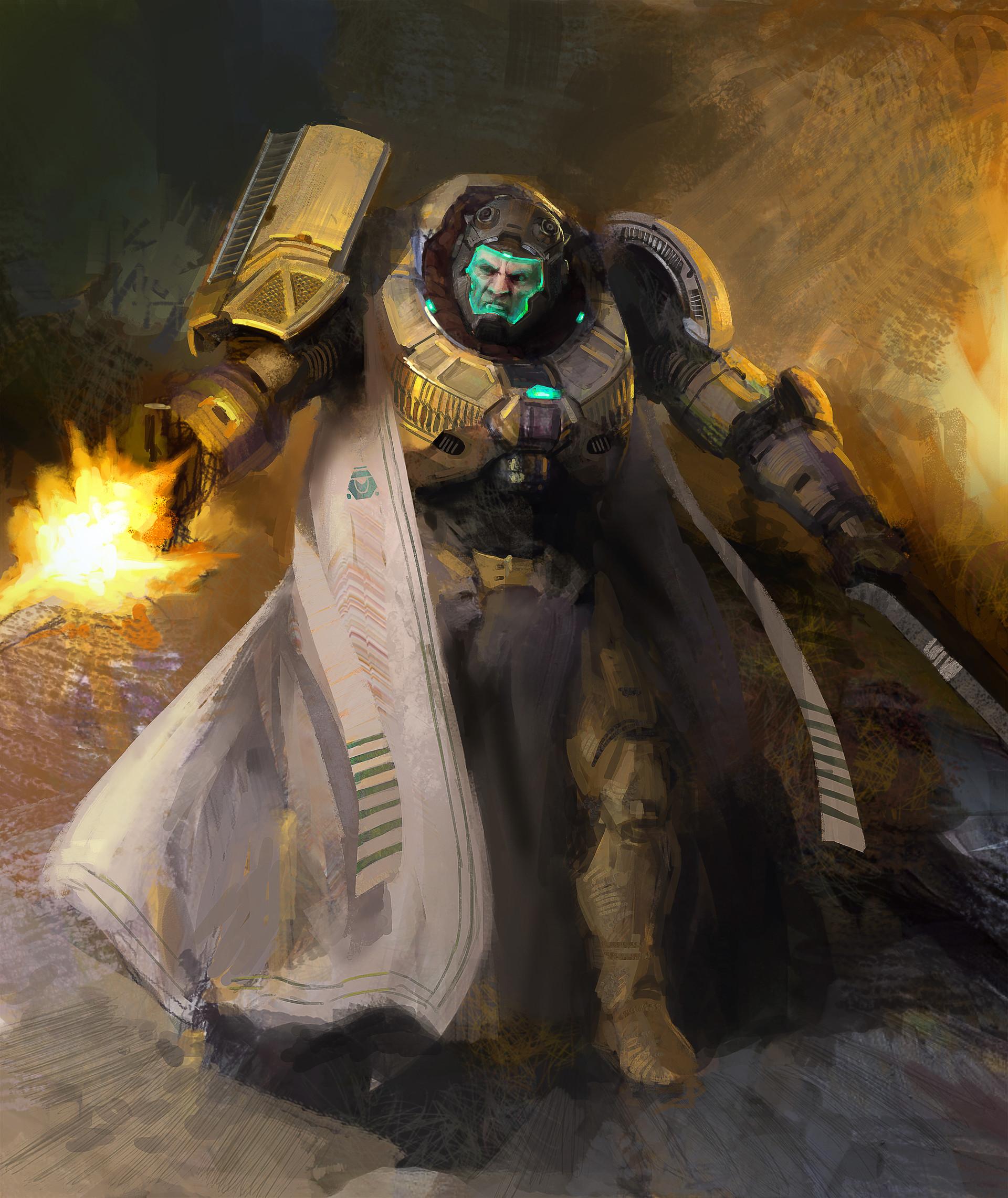 Lucas orstrom sci fi soldier 01