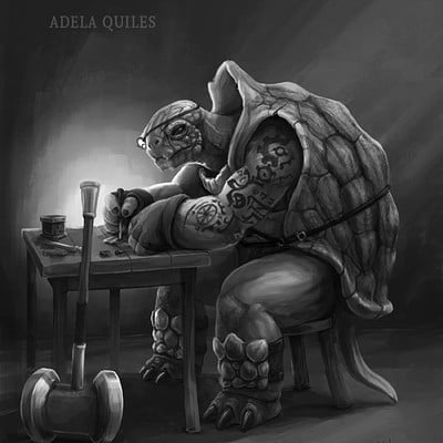Adela quiles tortle cleric 5
